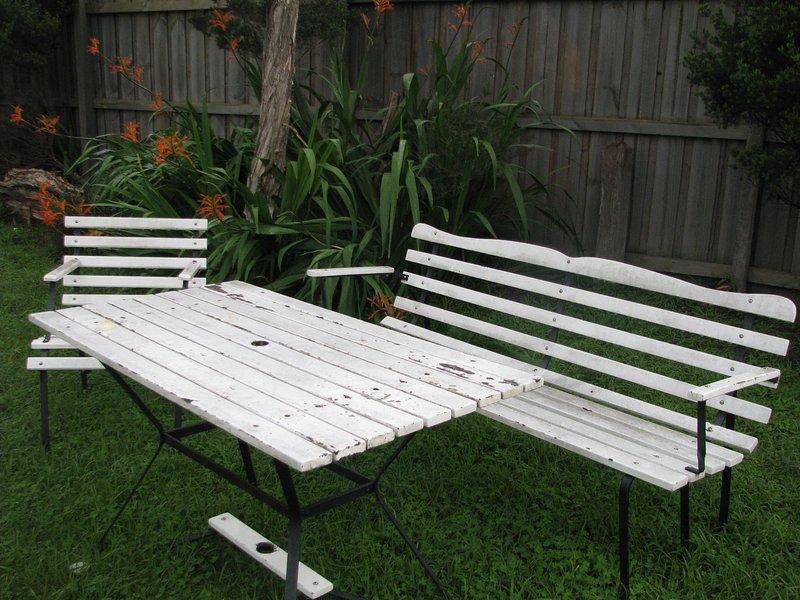 asientos de patio delantero