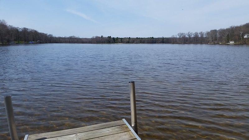 Notre quai privé sur le lac Mill privé