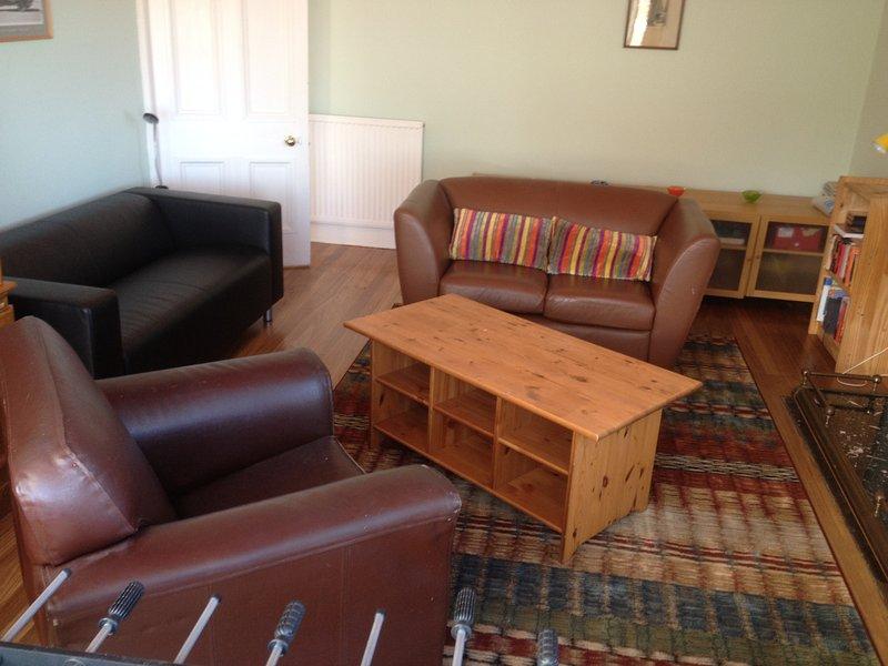 Lounge im oberen Stockwerk
