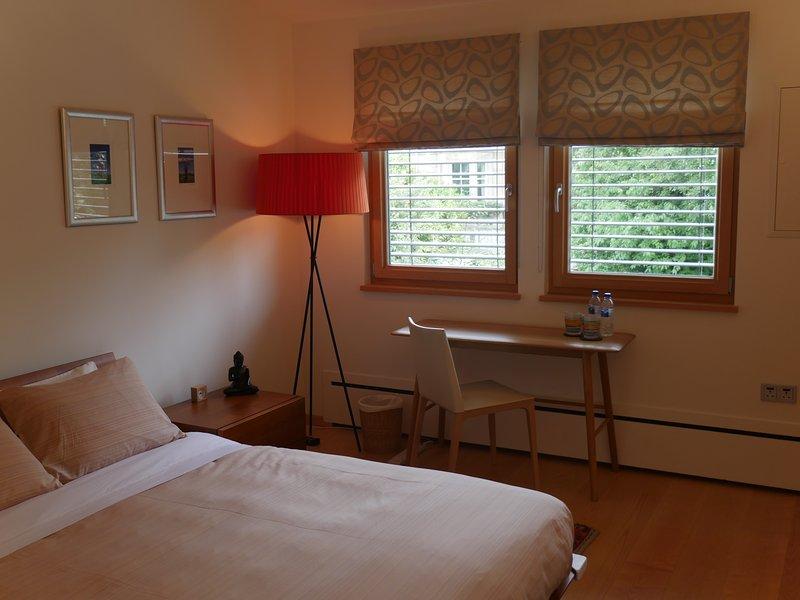 Your Bedroom - a Queen sized bed and full En-suite bathroom