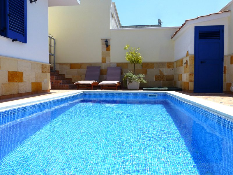 Crystal clear private pool solely for your own use