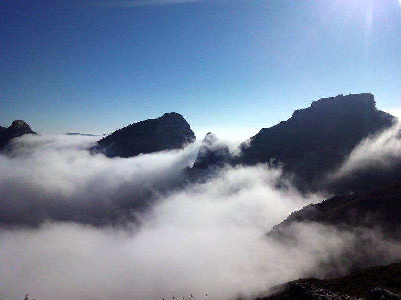 Sea of clouds Salto de Roldán