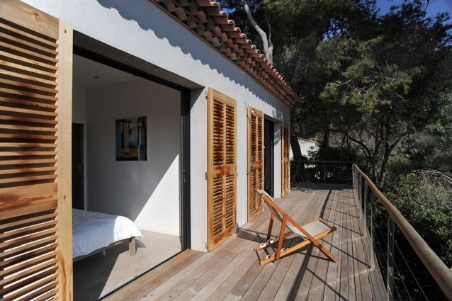 Villa 1 - Terrasse face à la mer