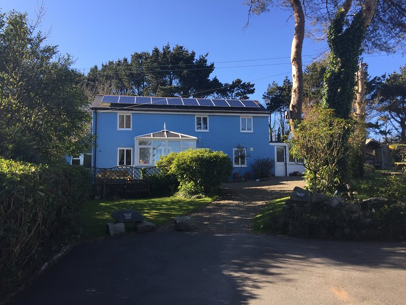 Bay View Cottage with a commanding view of St Austell Bay