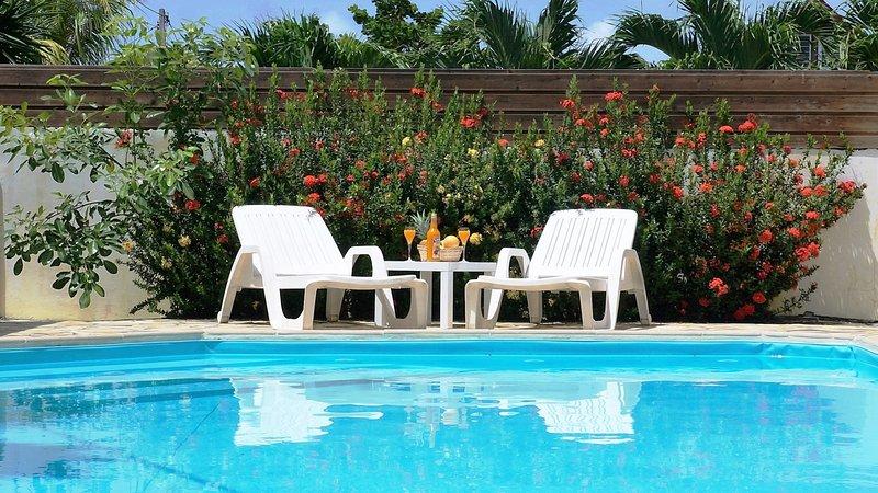 Studio 26 m2 - Résidence Macabou avec piscine, alquiler de vacaciones en Le Vauclin