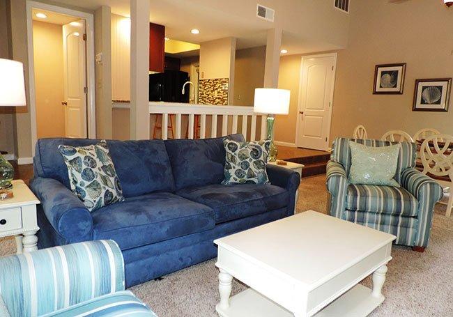 Living Room - Queen Size Sofa Bed
