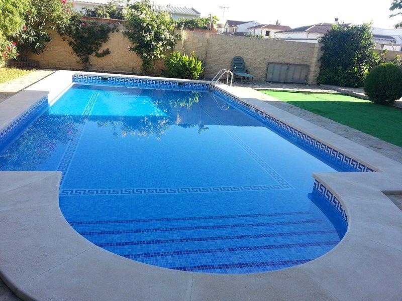 Pool of 7 x 12 meters