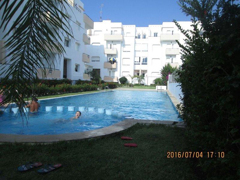 Achakkar: Bel appartement vue sur océan, holiday rental in Tangier