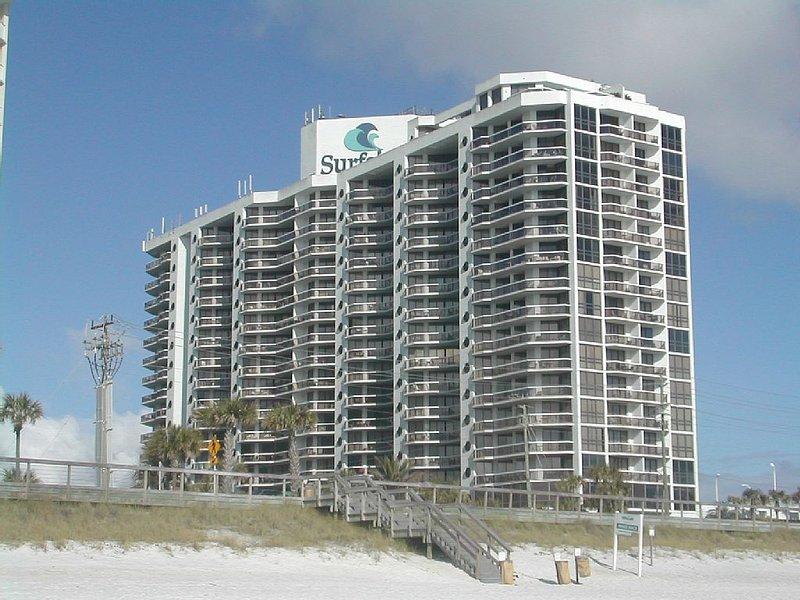 Surfside Resort desde el lado de la playa