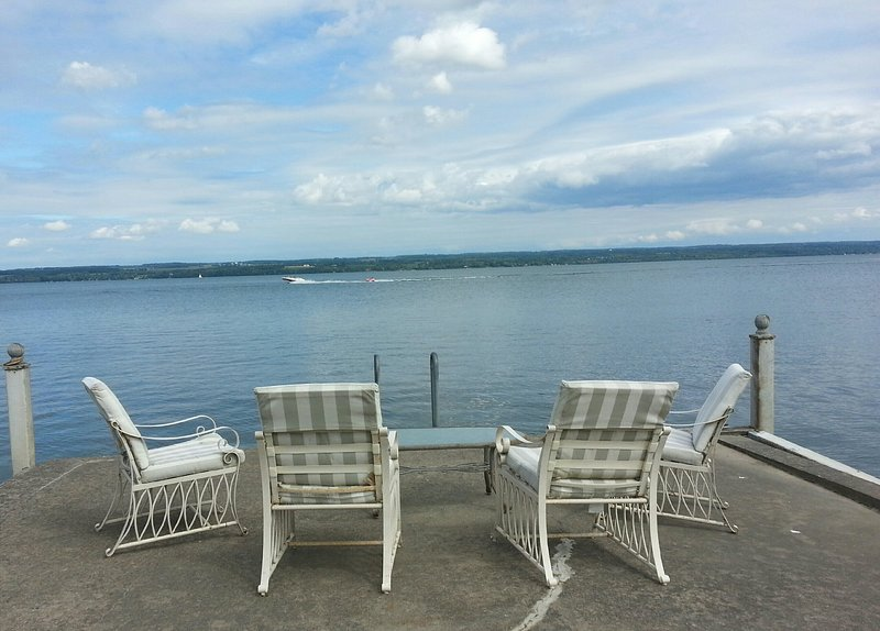 Relax and enjoy the view from the end of our dock .. no dock like this anywhere!!!
