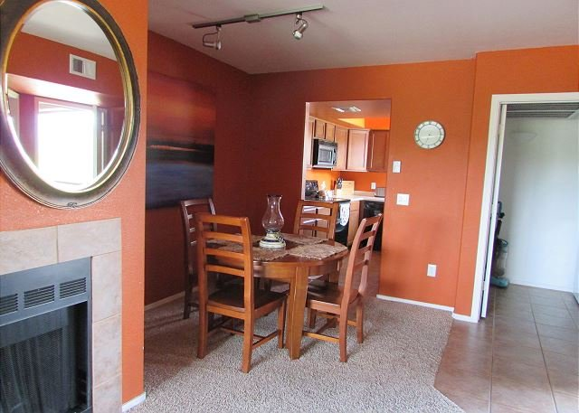 Dining room and laundry room