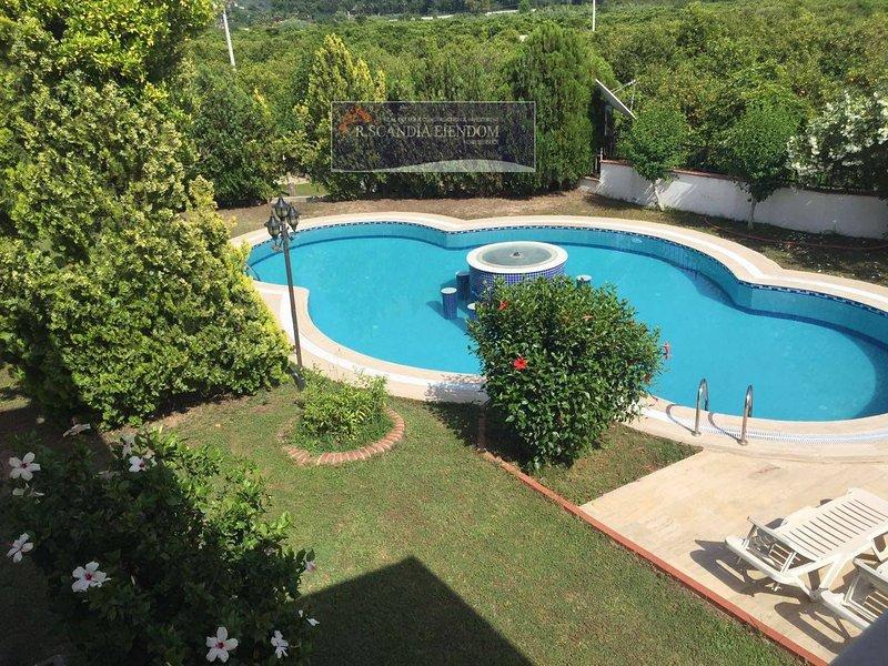 Housing Oh La La Mosae Alanya pool