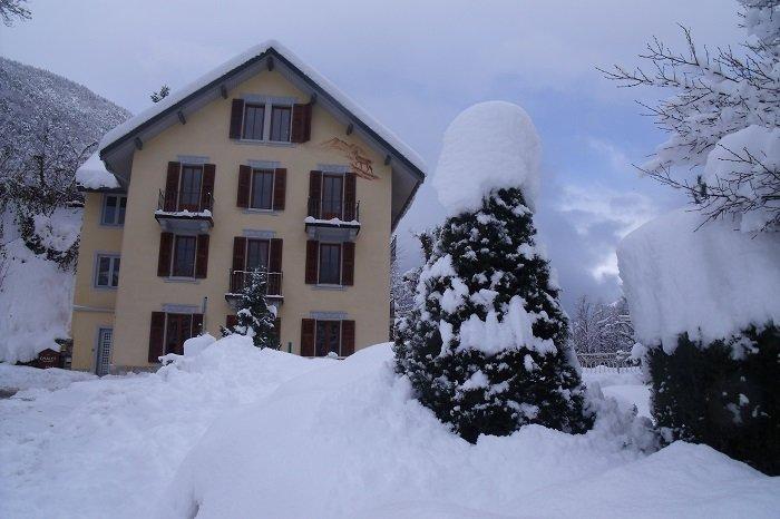 location appartement Brides-les-Bains Chalet très