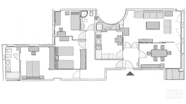 130m² | second floor | elevator