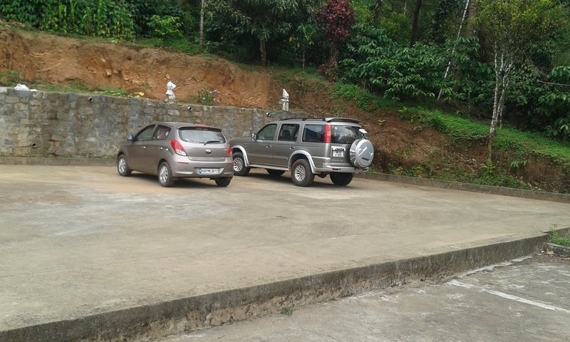 Pucca and leveled Parking