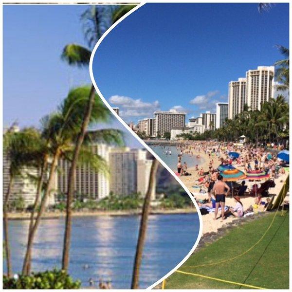 Waikiki Wyndham Royal Garden, Classy & Spacious w/ Mini Kitchen, holiday rental in Honolulu