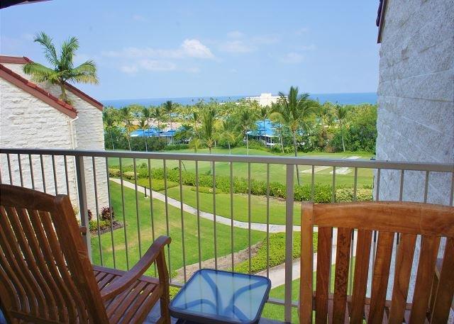 Lanai with Ocean Views
