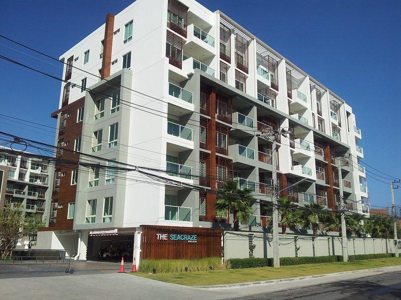 """Seacraze edificio """"Sky"""" - l'appartamento è il secondo alto sulla strada"""
