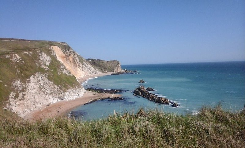 The Jurassic Coast is minutes away by bus, train or car.