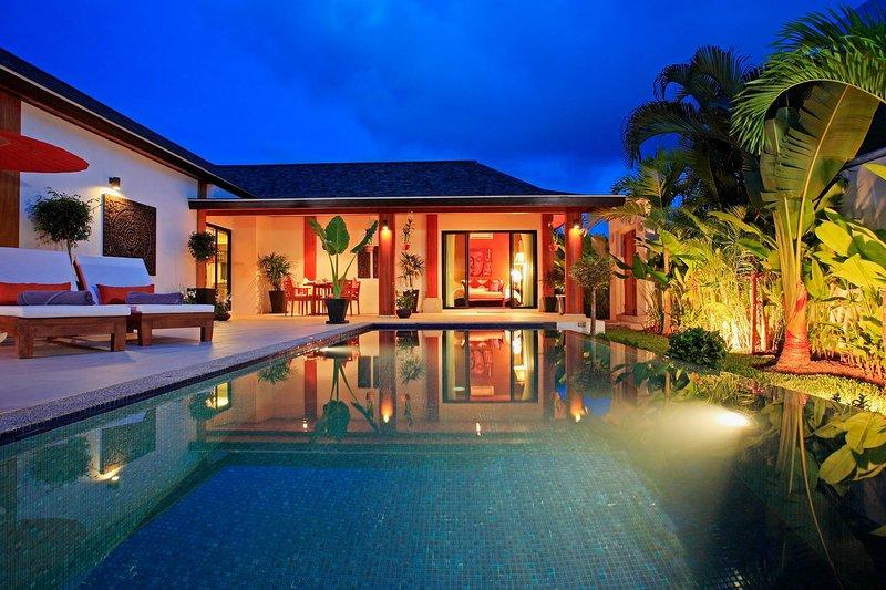 The beautiful Villa Sai Nam Naya and private Pool
