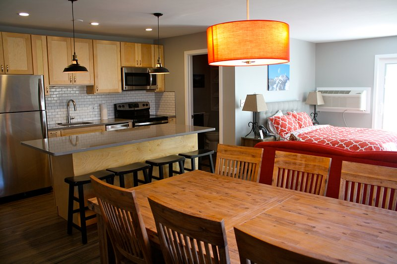 The Suites at Killington is a fully remodeled 2 room suite in Killington, Vermont.