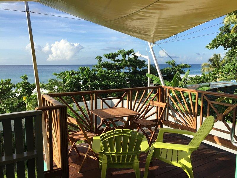 KATALO villa, sur la plage de rifflet, holiday rental in Deshaies
