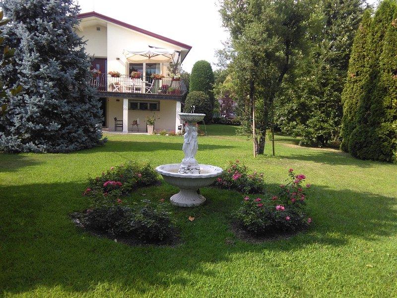 Elegante casa con giardino a Visnadello (TREVISO), Ferienwohnung in San Polo di Piave