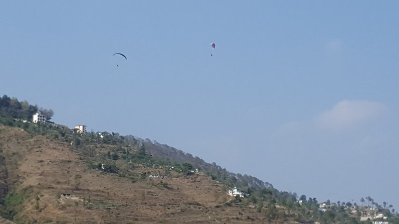 Paragliding at Ghorakal