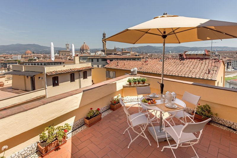 A stunning Terrace on Florence