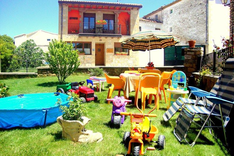 Casa rural en Navarra para niños