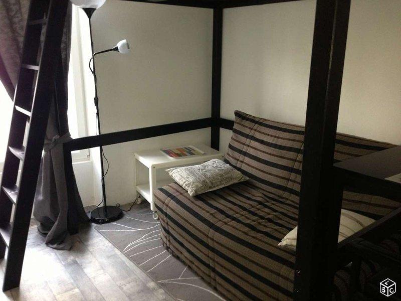 Studio meublé Dijon Gare centre ville, vacation rental in Fontaine-les-Dijon