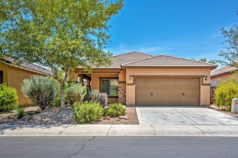 Experimente o melhor do Arizona a partir desta casa de aluguer de férias Maricopa!