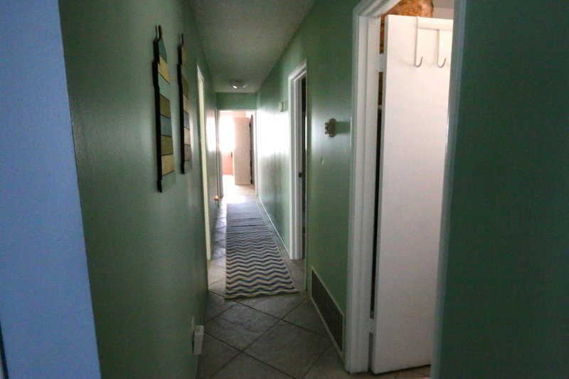 view of hallway from master bedroom