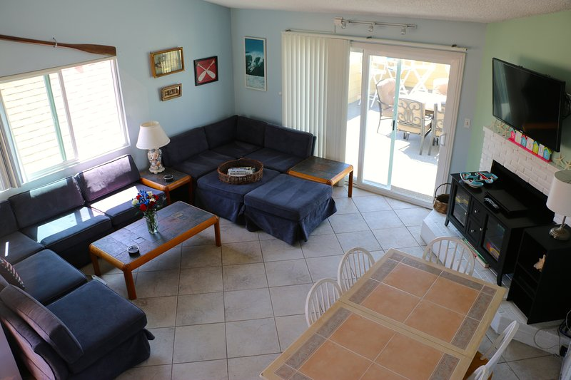 Living area - opens to patio