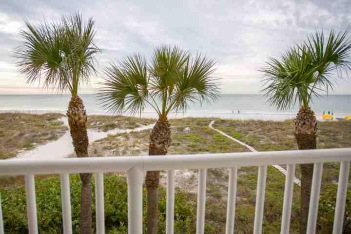 Balcon privé plage