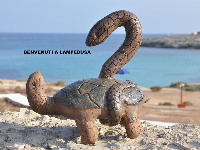 casa dei delfini, Ferienwohnung in Lampedusa