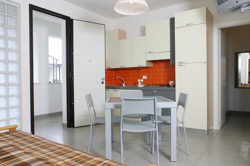 Wohnraum / Küche kühl