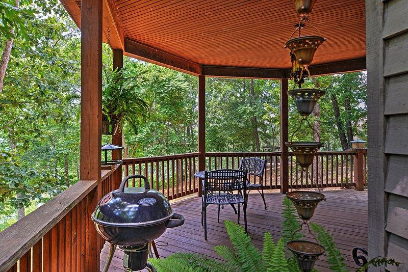 Podrá contemplar el impresionante entorno natural de la casa.