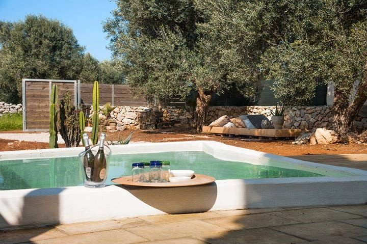 Chalet for rent in Gallipoli Padula Bianca between olive trees and near the beac, alquiler vacacional en Lido Conchiglie