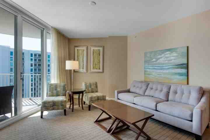 Enjoy the amazing gulf view from the living room