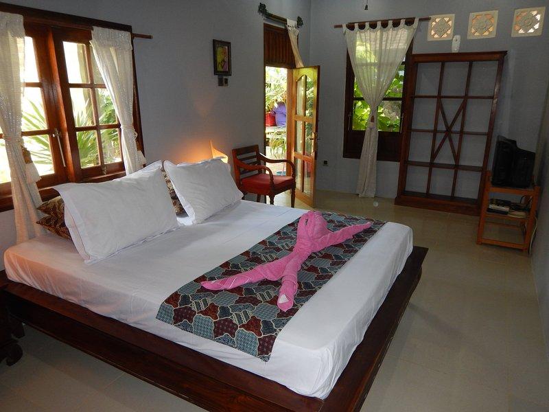 Abu Room at Rumah Damai, holiday rental in Gili Trawangan