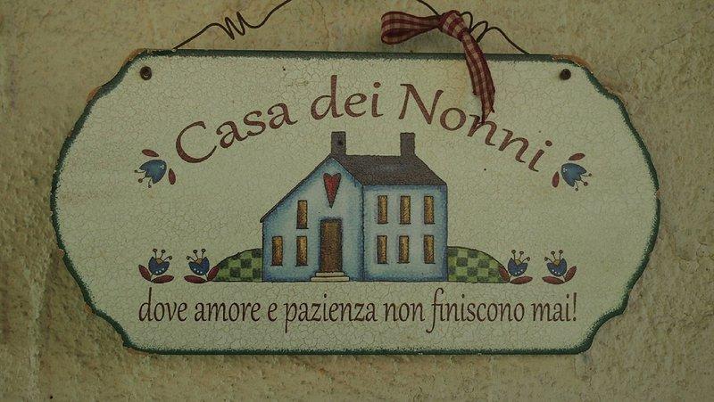 La Casa Dei Nonni - Appartamento a Bussoleno, alquiler de vacaciones en Ala di Stura