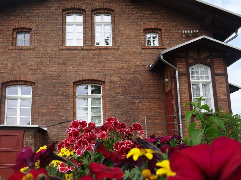 Pension Alter Güterbahnhof, holiday rental in Malschwitz