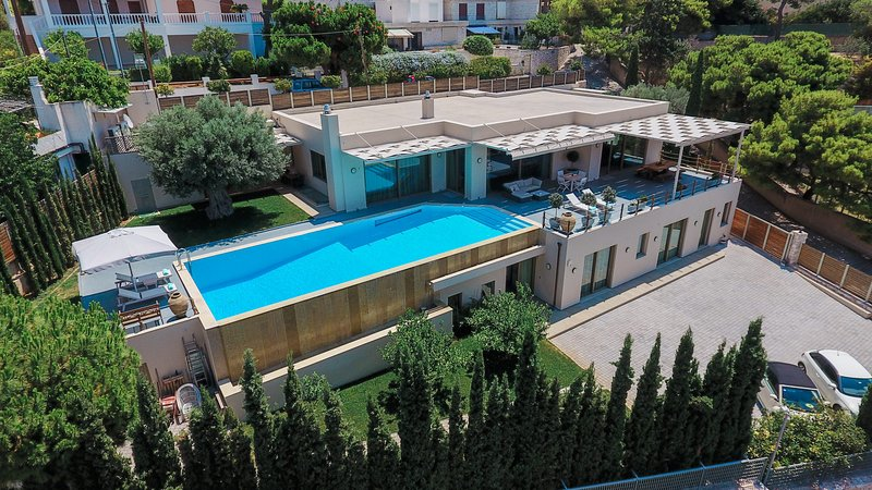 Villa Blue Coast - aerial view