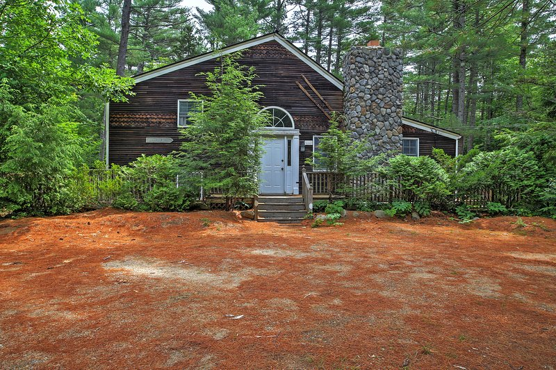This North Conway vacation rental house is perfect for your next getaway!