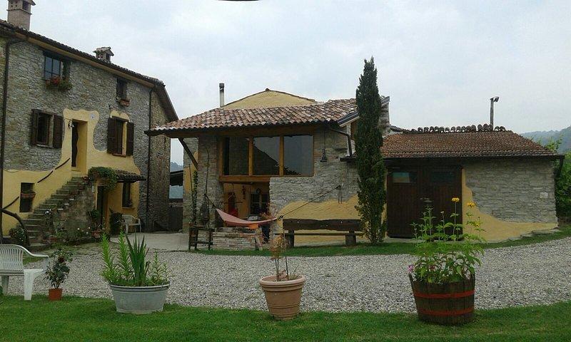 huis en veranda