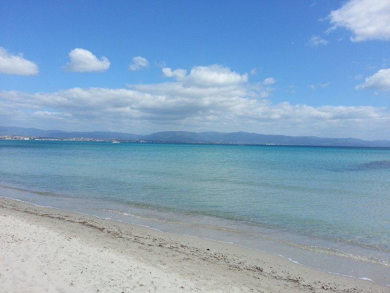 Poetto Cagliari's beach