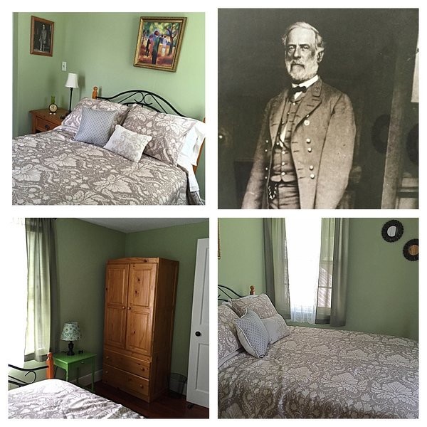 'The General Lee Room,' shared full bath hallway, holiday rental in Emmitsburg