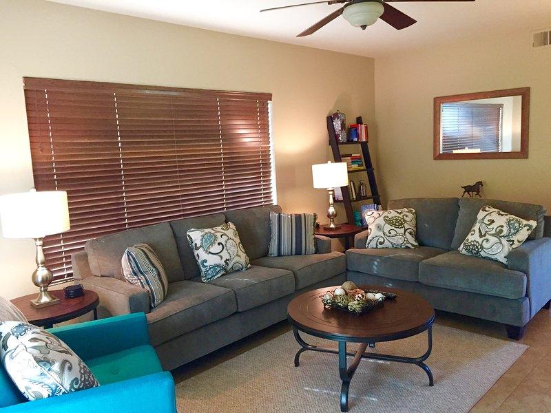 Unsere neu eingerichtete Wohnung hat alles, was Sie brauchen!