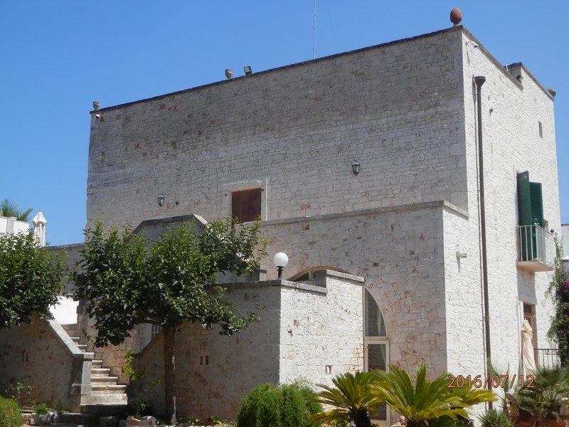 Masseria S.D. di Manchisi, holiday rental in Cozzana